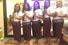 Golf Thai Massage Staff